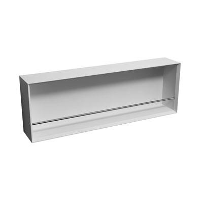 Полка Square Shelf WD0187-1 Matte White