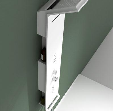 Душевая панель NEW WD0071 Matte White