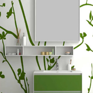 Полка Cubes Shelf WD2932-4 Matte White