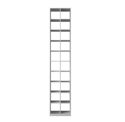 Этажерка Cube Bookcase WD06002 Matte white