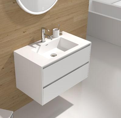 Тумба Illumina Main Cabinet WD2931-0 Matte white